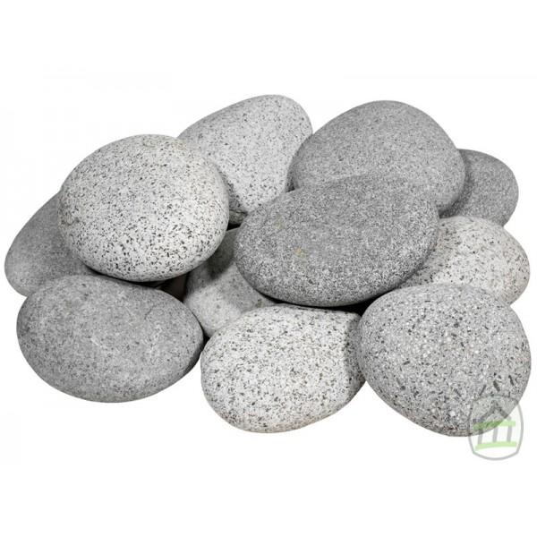 Beach Pebbles grijs keien